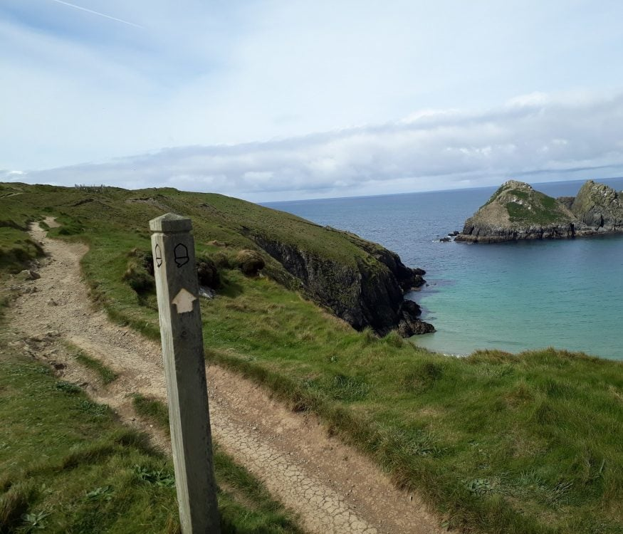 Cornwall hiking solo