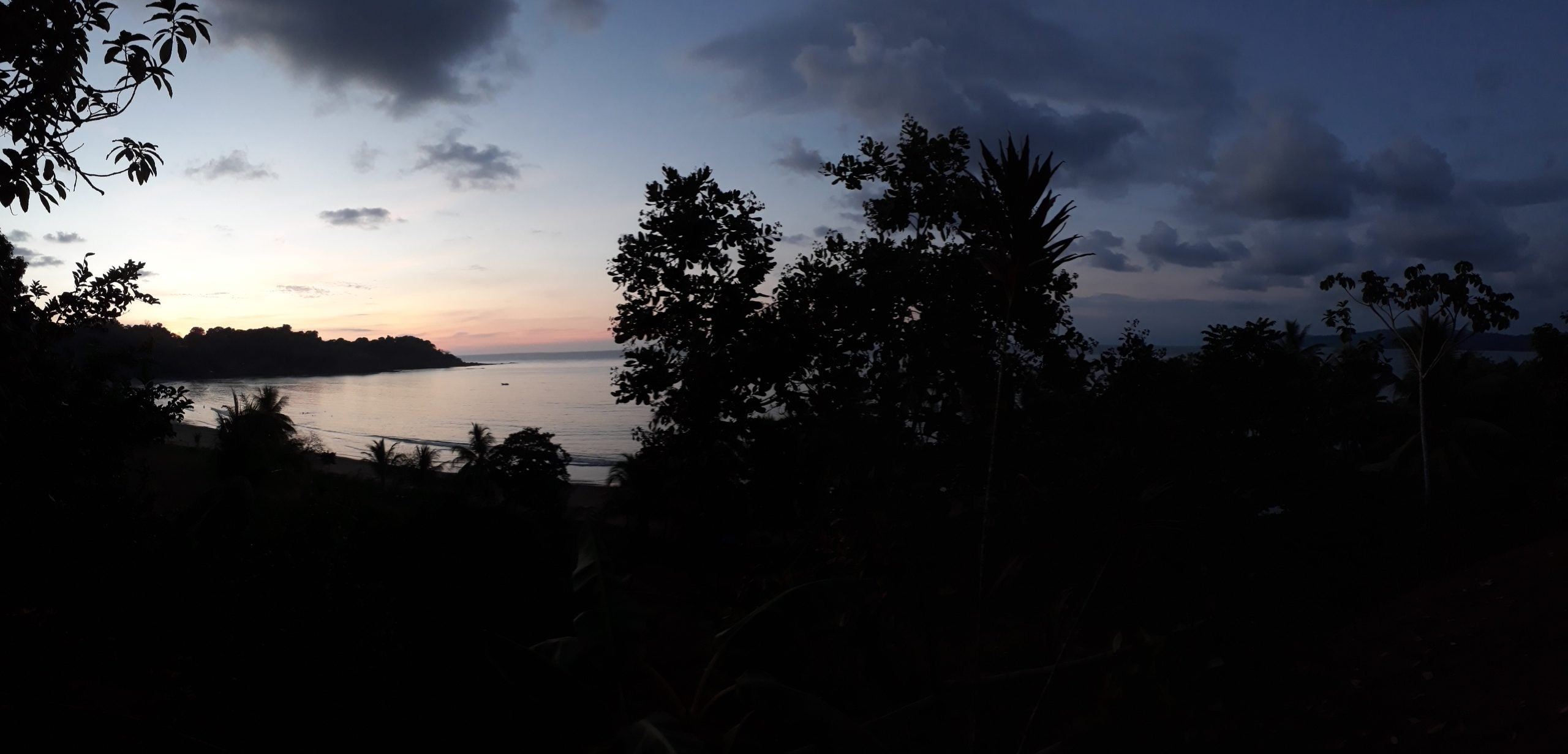 Sunsets backpacking in Costa Rica