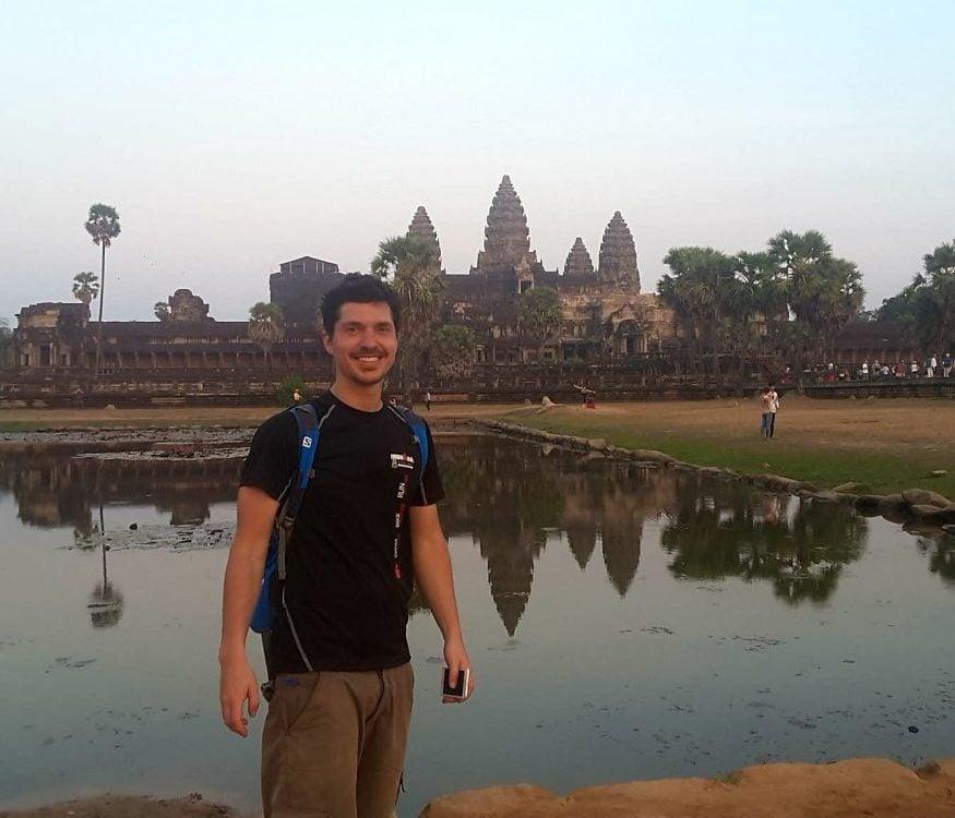 Siem Reap complex Cambodia