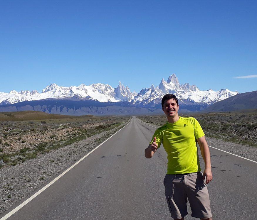 Panamerican highway patagonia