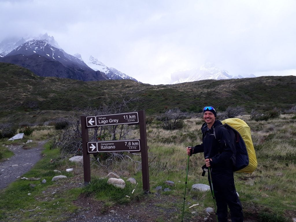 Solo backpacking in Patagonia
