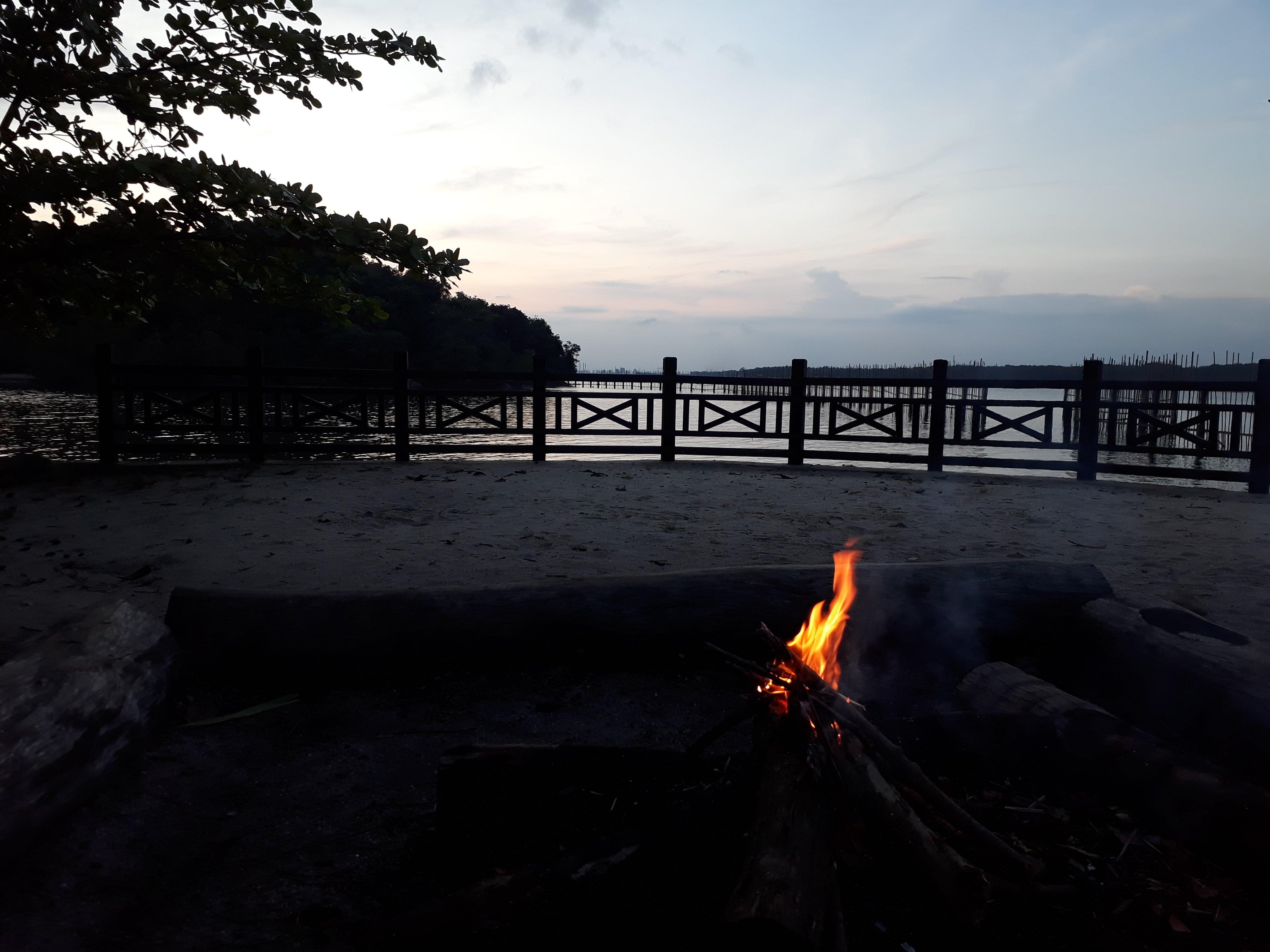 camping in pulau ubin singapore