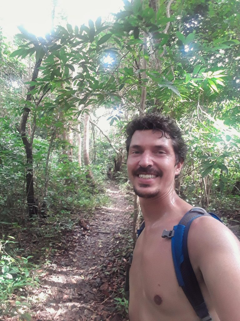 hiking in Koh Phi Phi