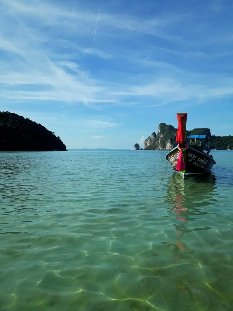 swimming in Koh Phi Phi