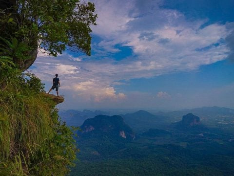 Hiking in Krabi Thailand