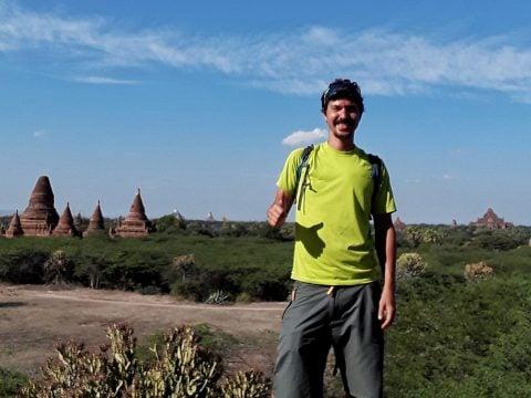 Backpacking in Bagan Myanmar