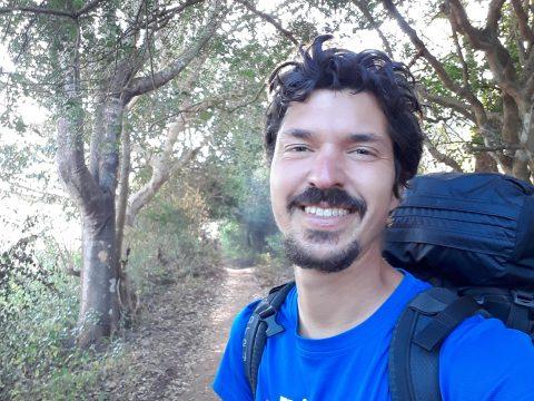 Solo hiking in Myanmar