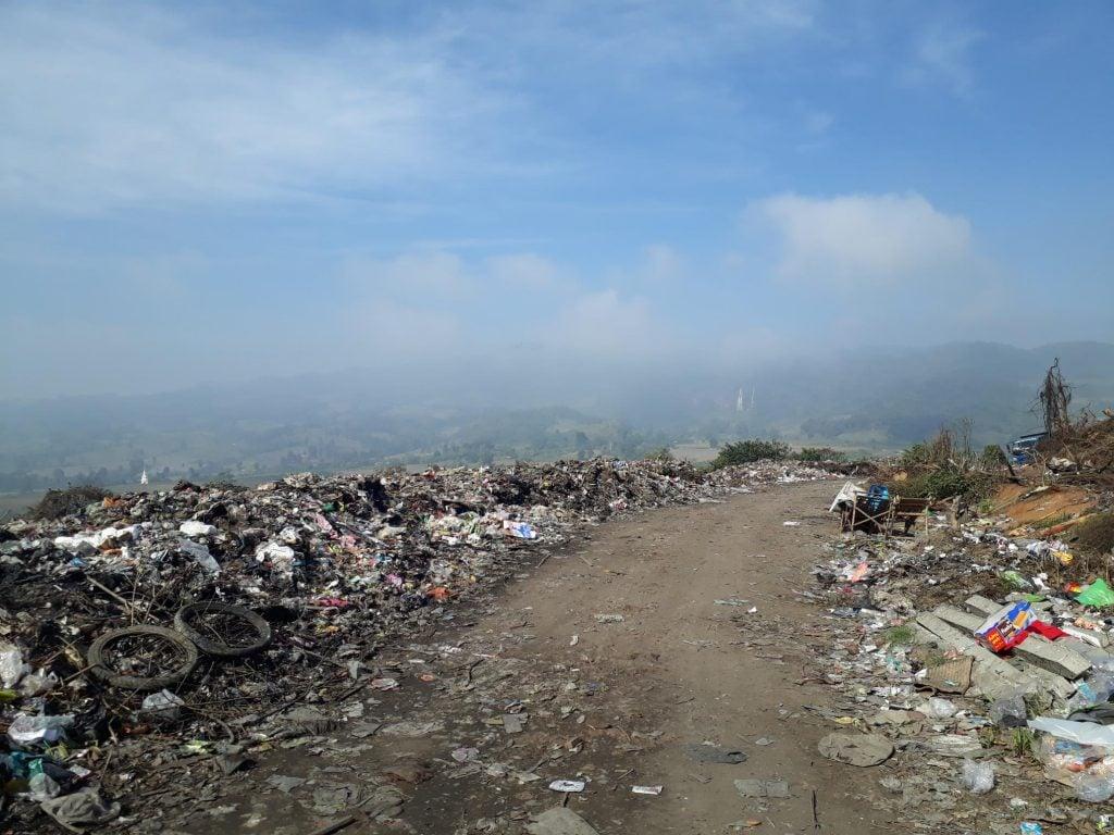 landfill in myanmar