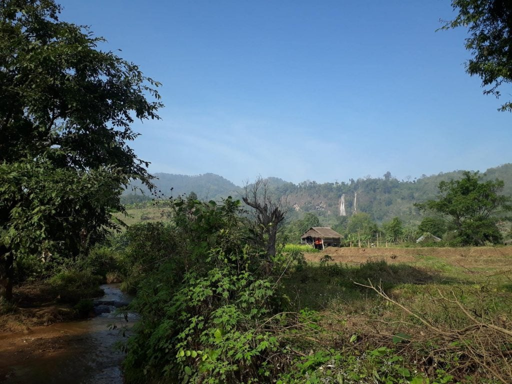 hsipaw waterfall hike