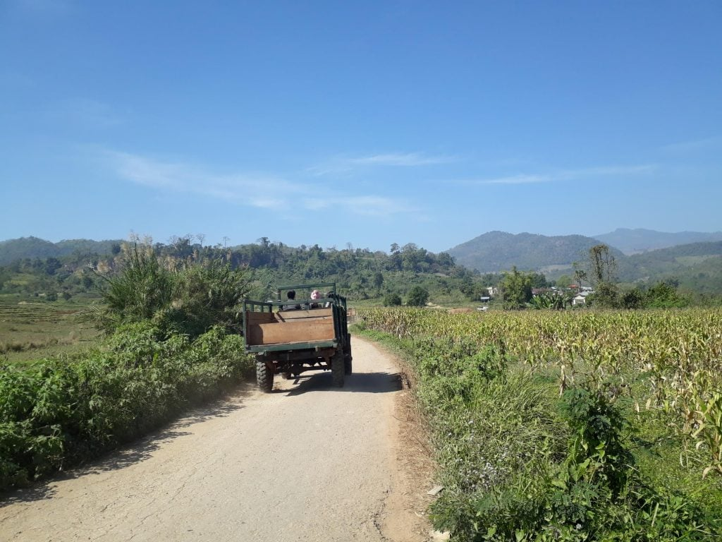 hiking in hsipaw