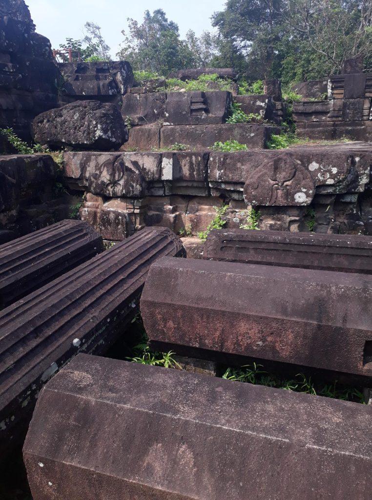 Ruins in Vietnam
