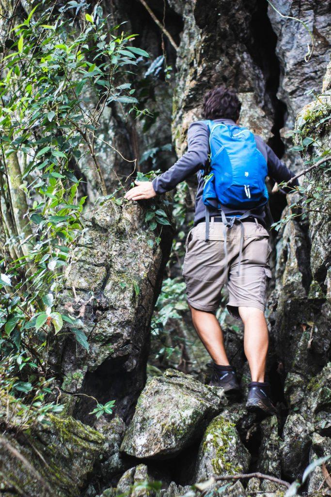hiking in Ninh Binh