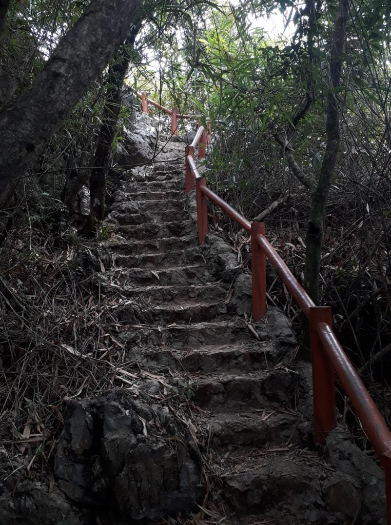 Steps at national park