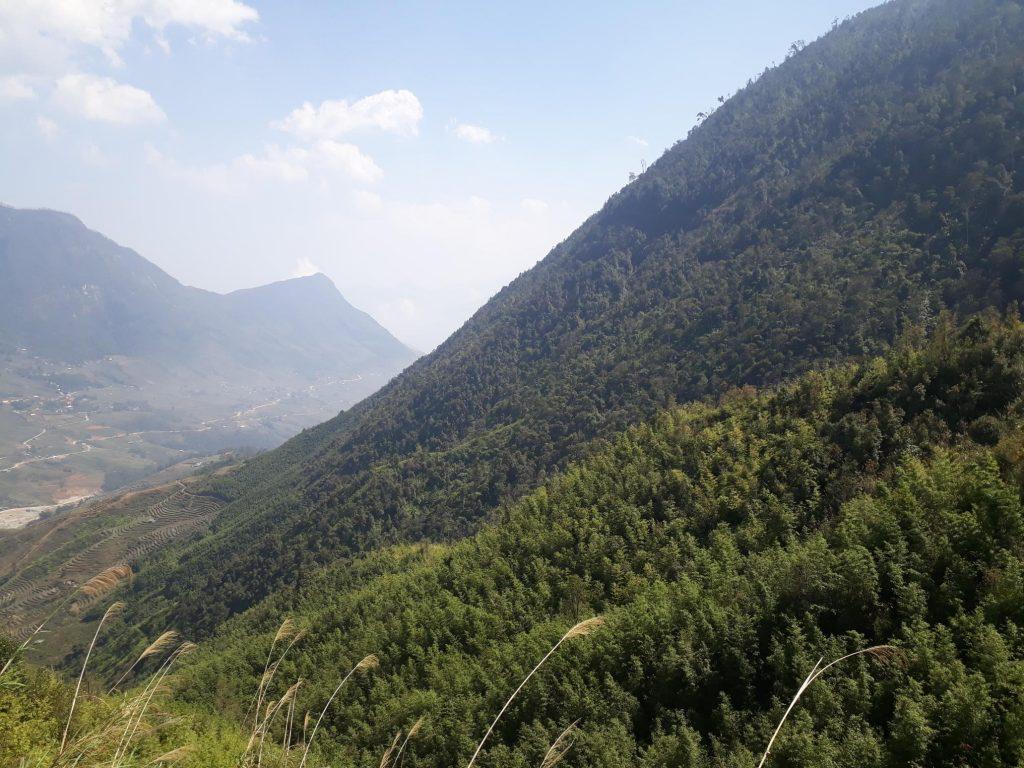 Solo hiking in Sapa