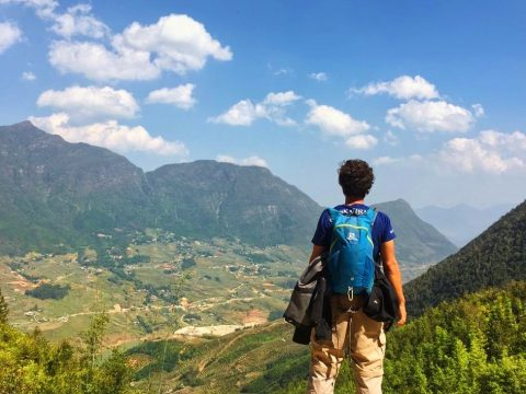 Solo hiking in Sapa