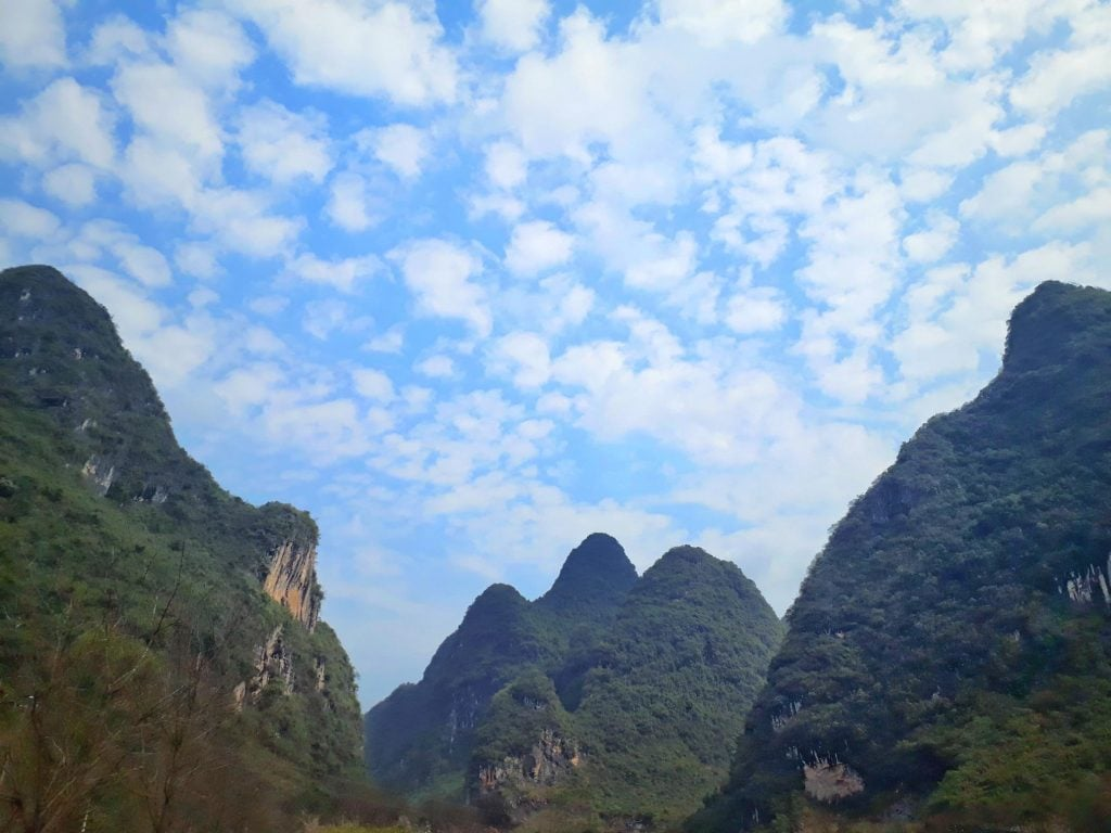 Yangshuo backpacking in China