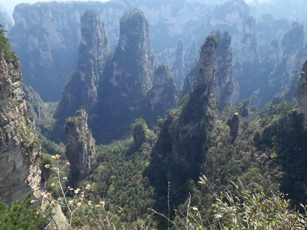 Backpacking in Zhangjiajie China