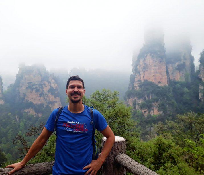 Backpacking in Zhangjiajie China