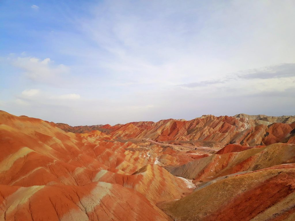 Coulourful Danxia mountains