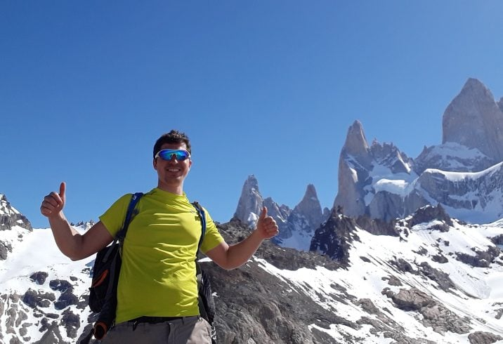 hiking in fitz roy