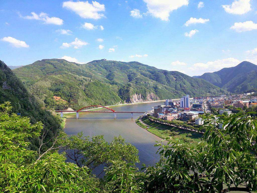 Solo hiking in Danyang