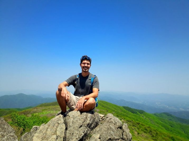 Hiking in Sobaeksan