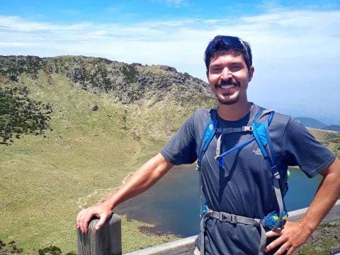Hiking Hallasan volcano