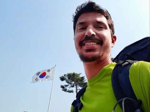 Solo backpacking in Korea
