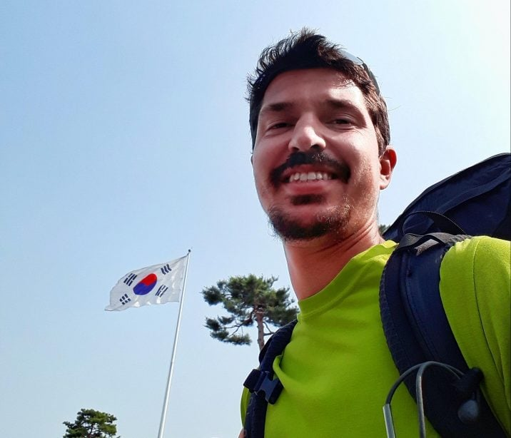 Solo backpacking in Korea