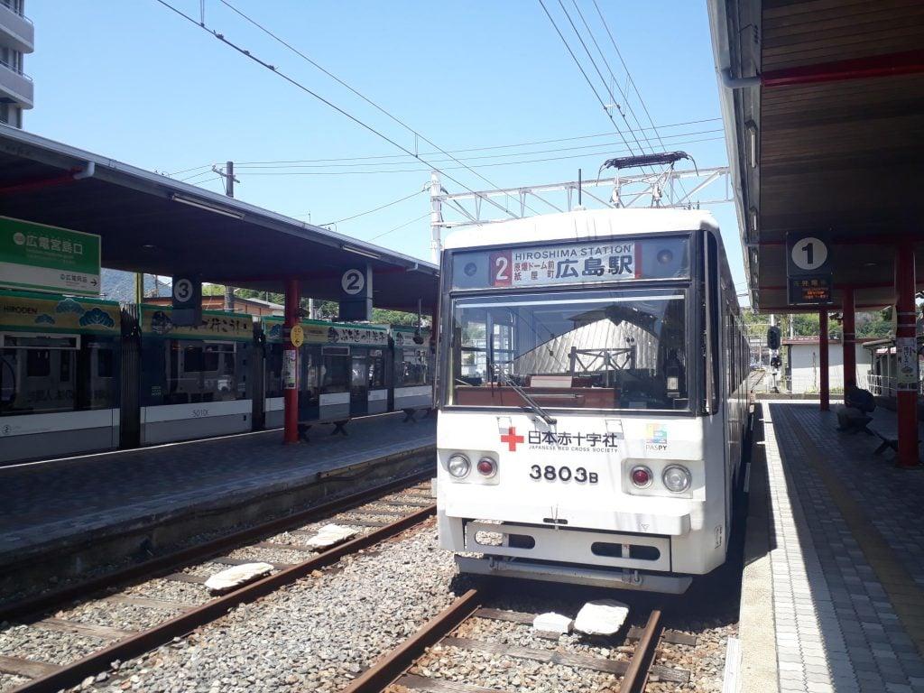 Tram from Hiroshima