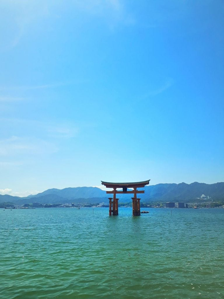 one of three views of Japan
