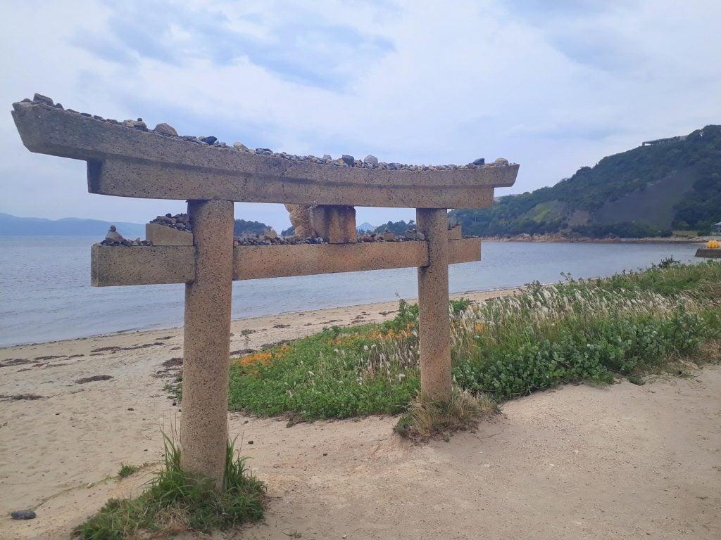 Beach in Naoshima