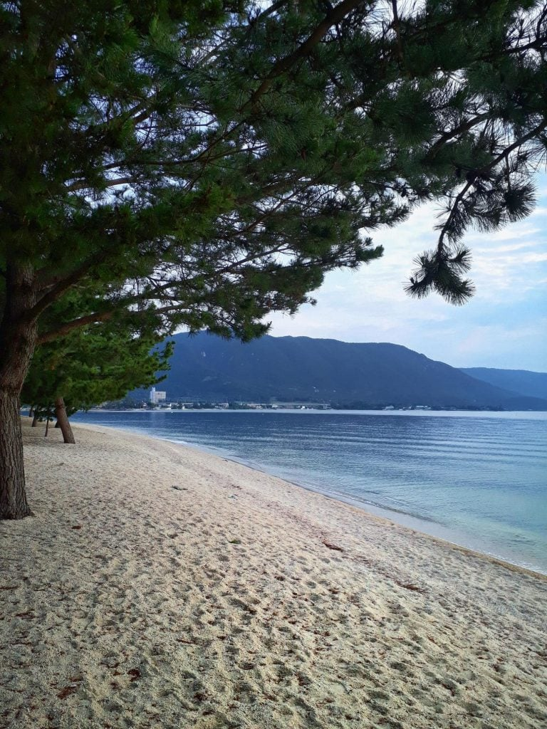 Camping in Lake Biwa