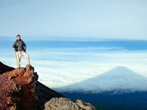 Hiking Mount Fuji solo