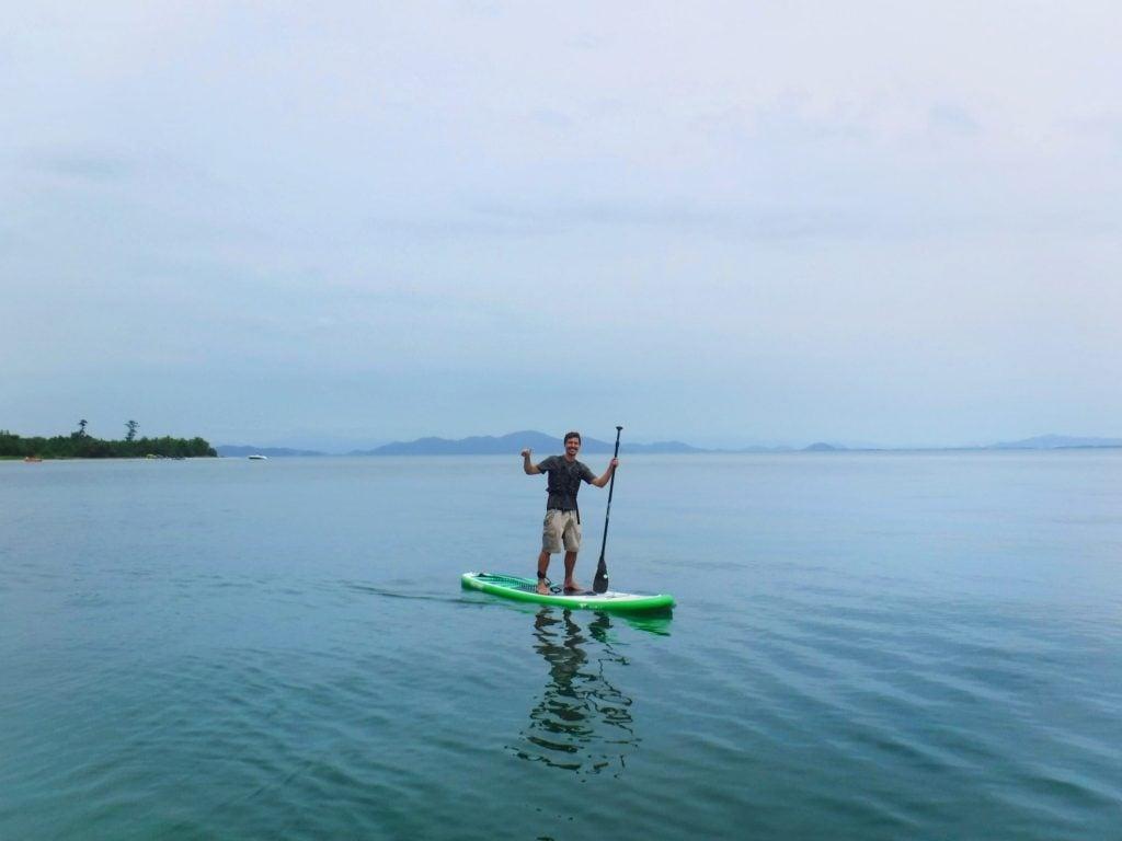 SUP in Lake Biwa