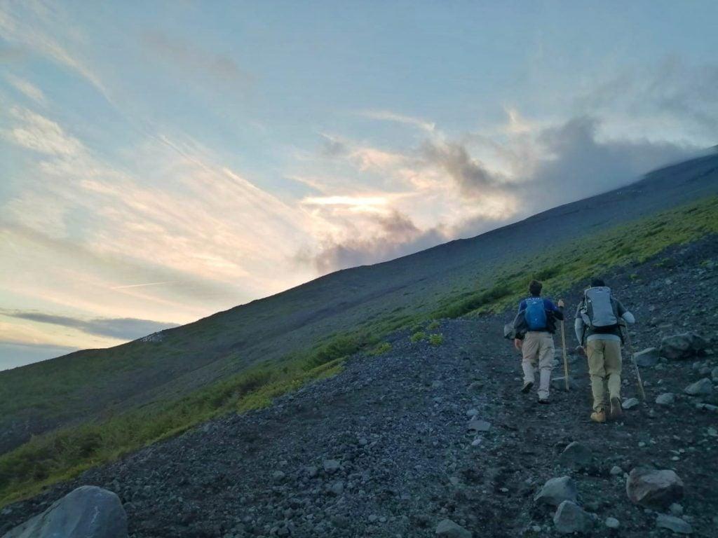Hiking Mount Fuji solo