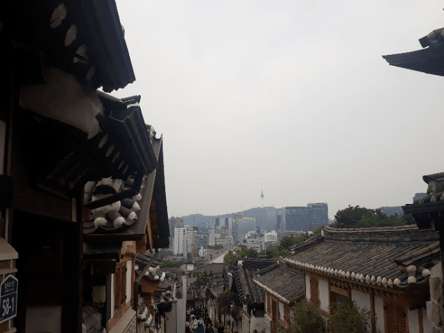 Backpacking in Seoul