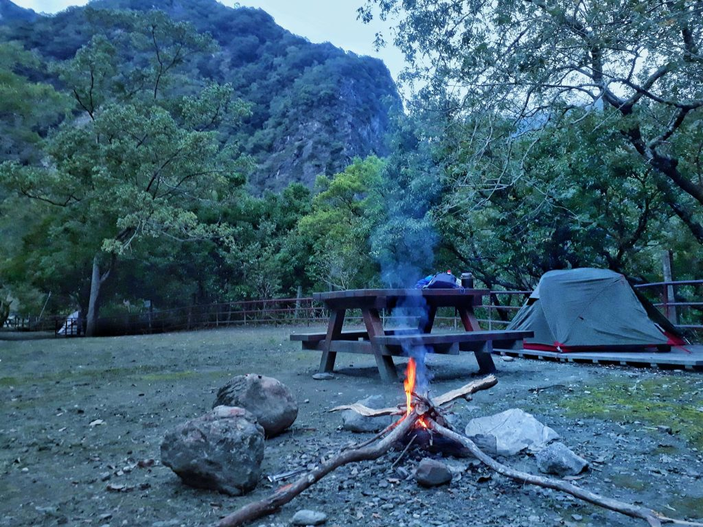 Camping in Taroko