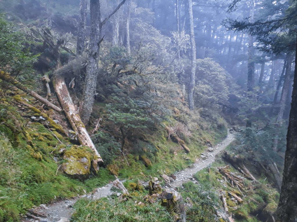 trail to sianyang lodge
