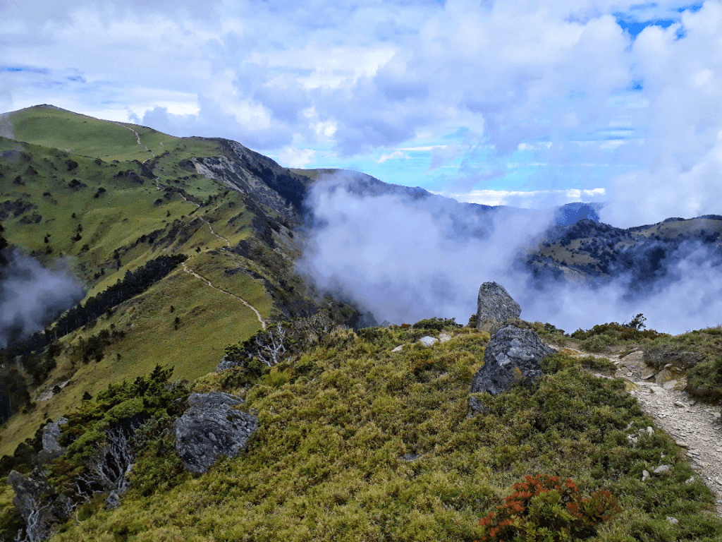 landscape by jiaming lake