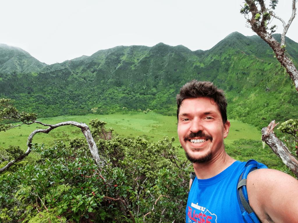 Kaau Crater Trail summit