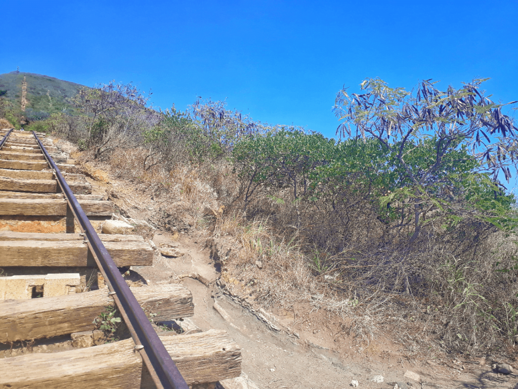 Hiking the Koko Crater Trail