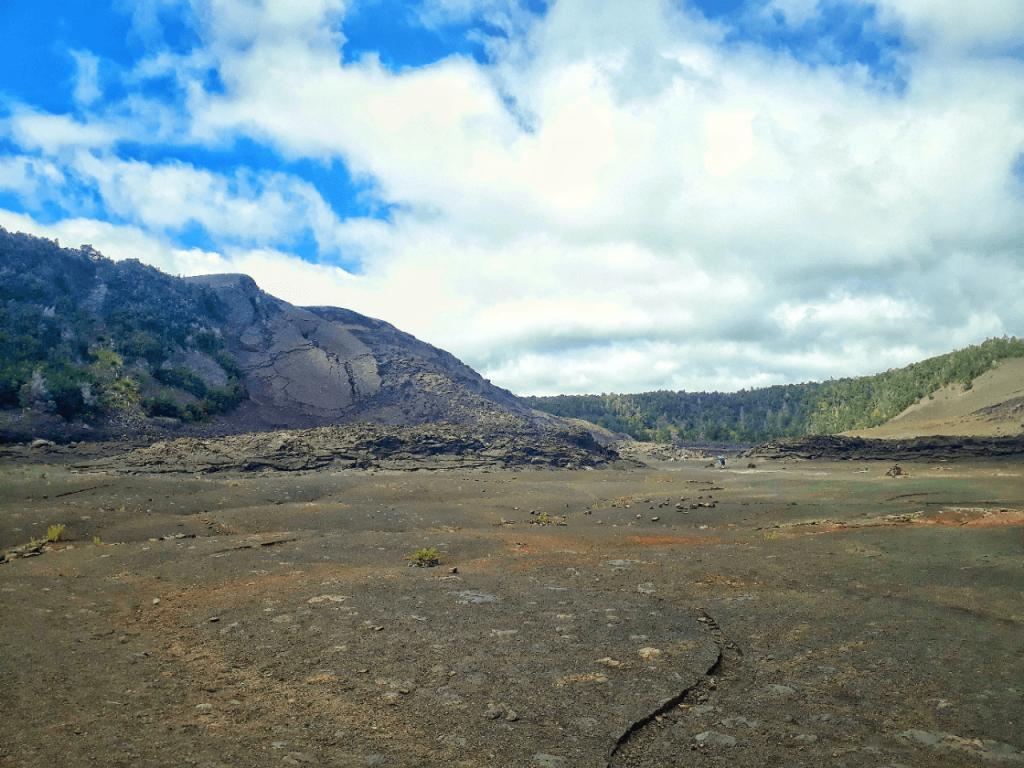 kilauea iki at volcano national park