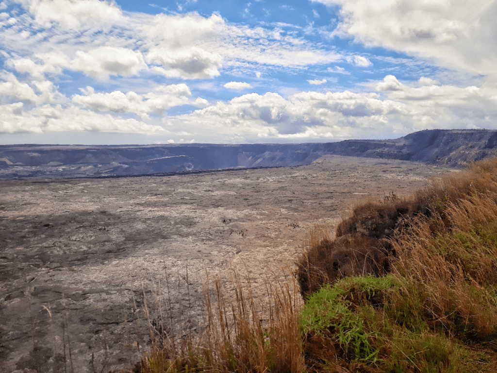 kilauea caldera hawaii