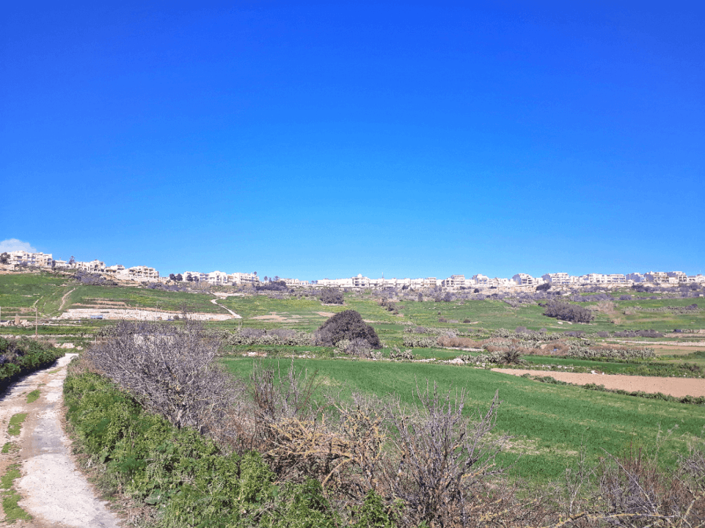Walking in gozo