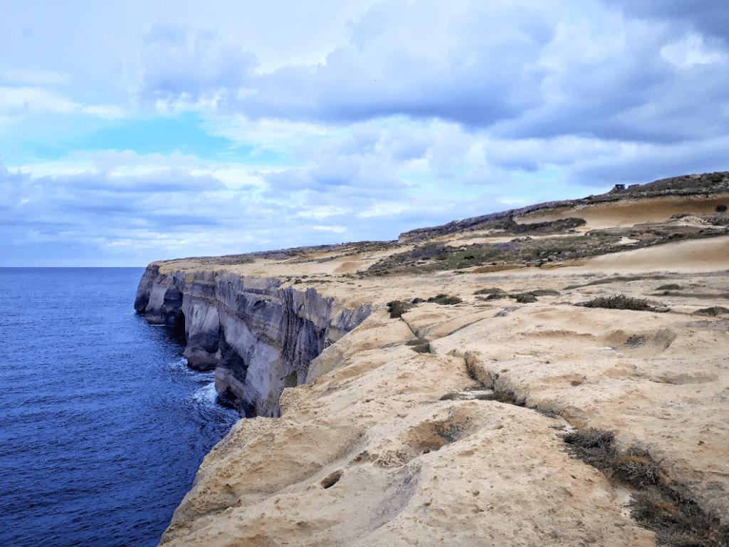 gozo north hike