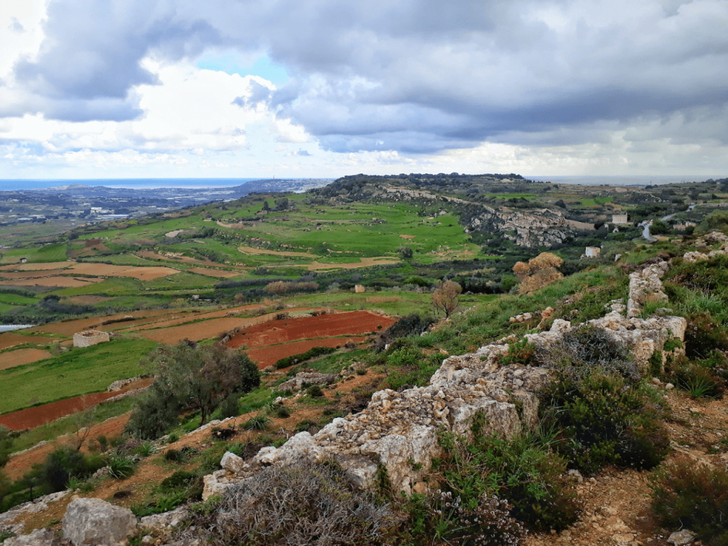hiking in malta