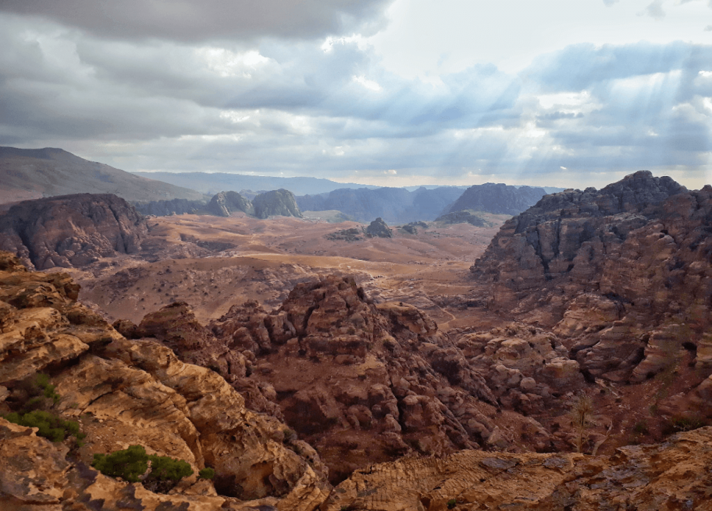 petra valley views