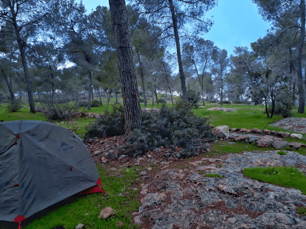 3 camping site