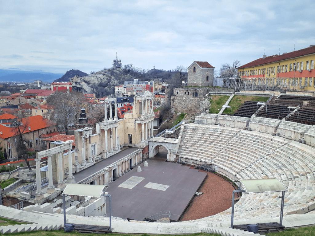 roman theater plovdiv